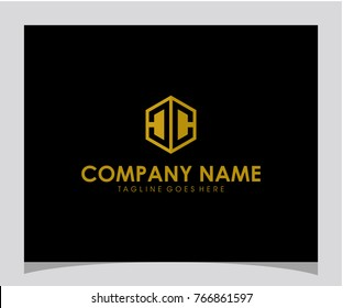 CC initial letter logo vector
