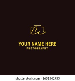 Cc Initial Signature Photography Logo