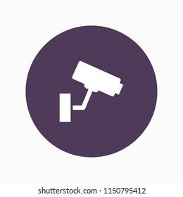 cctv icon vector