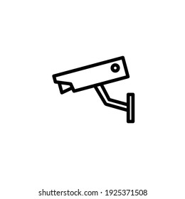 Cctv icon vector illustration logo template for many purpose. Isolated on white background.
