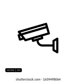 CCTV Icon Vector - Sign or Symbol