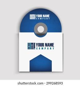 CD cover art corporate identity