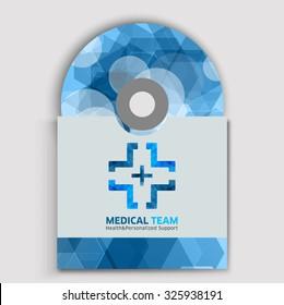 CD cover art corporate identity medicine