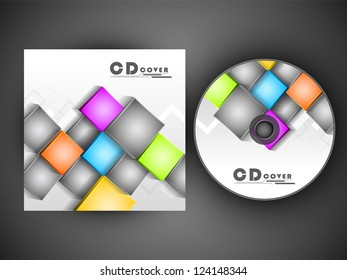 CD Cover design for your business. EPS 10.