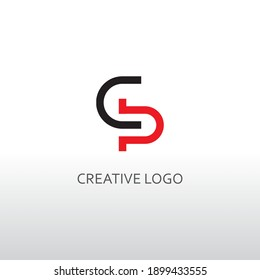 cd letter for simple logo design. a modern vector design