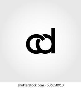 cd lowercase logo black interrelated