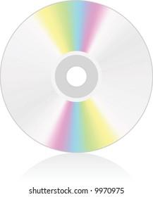 CD medium - vector illustration