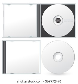 Cd Packaging Template : Vector Illustration