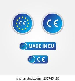 CE Mark European Union Labels