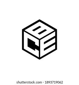 CEB letter logo design with white background in illustrator,eps cube logo, vector logo modern alphabet font overlap style. calligraphy designs for logo, Poster, Invitation, etc.