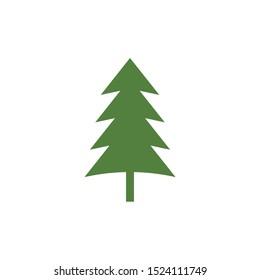Cedar tree graphic design template vector isolated
