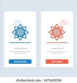 Celebrate, Decorate, Decoration, Diwali, Hindu, Holi  Blue and Red Download and Buy Now web Widget Card Template
