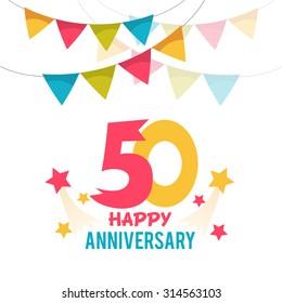 Celebrating 50 years anniversary