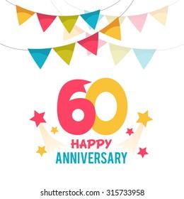 Celebrating 60 yeras anniversary