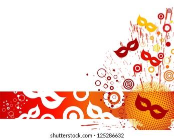 Celebration card - vector