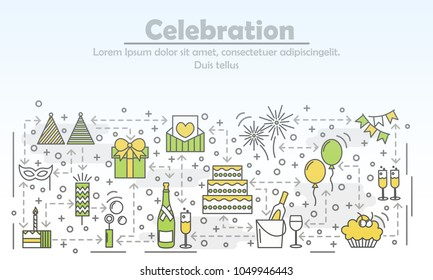 celebration event agency advertising vector 260nw