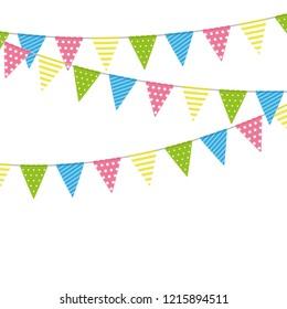 Celebration Pattern Bunting