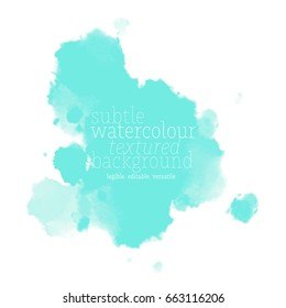 celeste blue watercolor