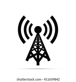 Cell Phone Tower Icon