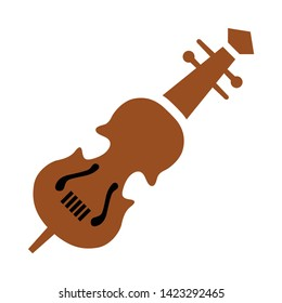 Cello icon. flat illustration of Cello vector icon for web