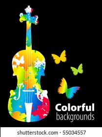 cello, violoncello color background