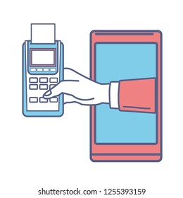 cellphone and dataphone