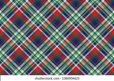 Celt pattern check fabric texture. Vector illustration.
