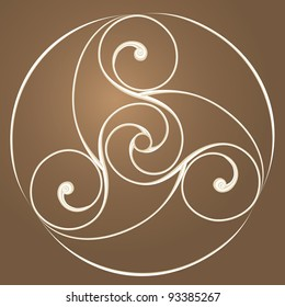 Celtic Spiral Images, Stock Photos & Vectors | Shutterstock