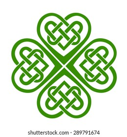 Celtic Heart, shamrock, St. Patrick's Day