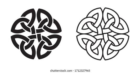 Celtic Knot (Element of Celtic Ornament)