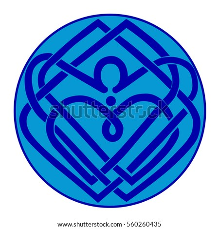 Celtic Knot Symbol Eternal Love Vector Stock Vector Royalty Free