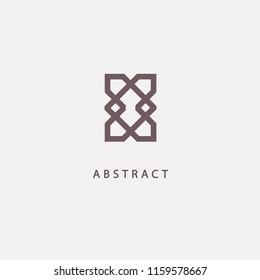 Celtic knot vector. Ornamental tattoo symbol. Luxury circle retro emblem.Traditional scottish vector logo. Simple Line Art Ornate Design. Vintage geometric Vector Illustration.
