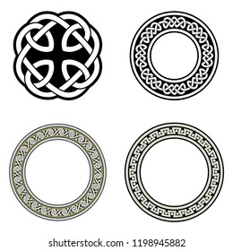 Celtic ornaments. Isolated vector