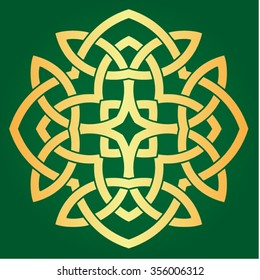 Celtic seamless pattern.