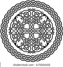 Celtic Tree of Life with Knot Border