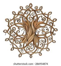 Celtic Tree sign