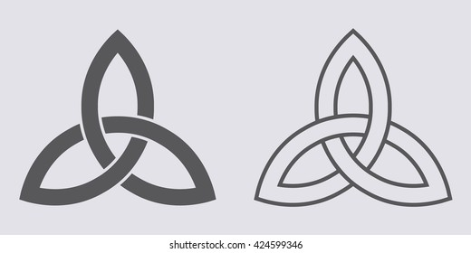 Trinity Knot Images Stock Photos Vectors Shutterstock