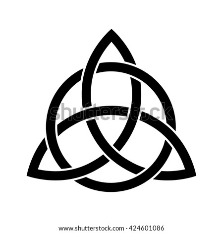 Celtic Trinity Knot Vector Illustration Stock Vector Royalty Free