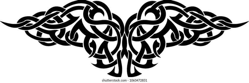 Celtic Wing Tattoo