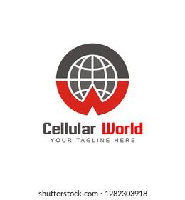 Celullar World Logo