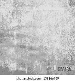 Cement wall texture with for background, Vector