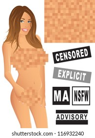 Censored Pixels/XXX Girl