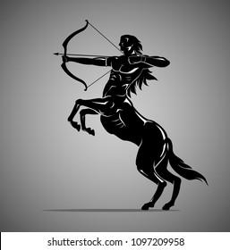 Centaur Archer Shadow