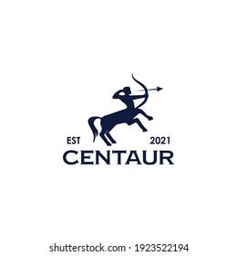 Centaur icon logo design vector template