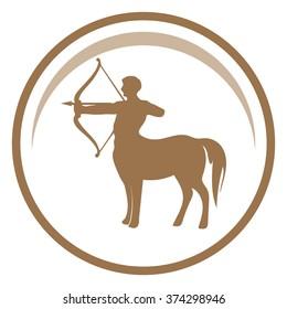 Centaur vector icon.