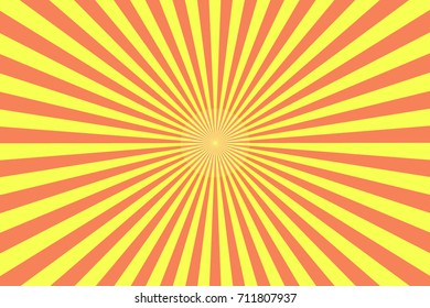 center starburst background with soft tones.  Line sunray 2d retro raster background, linear gradient, design element. EPS10 vector.