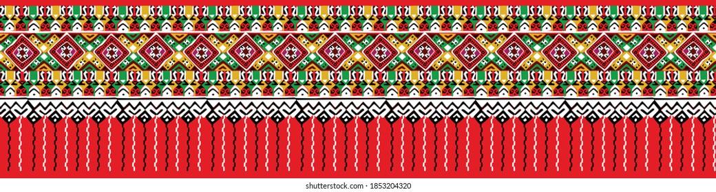 Central region Thai Fabric Silk Pattern
