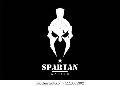 Centurion warrior helmet with the crack on eye.. An illustration of elegant head warrior character .