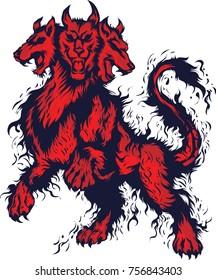 Cerberus illustration design