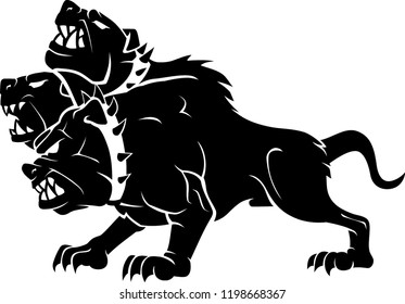 Cerberus Images, Stock Photos & Vectors | ShutterstockThree Headed Animal Drawing